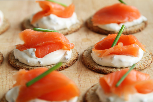 Canape salmonS