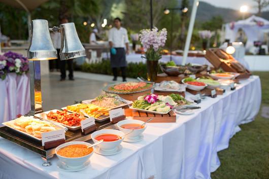 Mesa Buffet boda S
